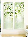 e-Home® sträckta ledda kanfastryck konst blomma flash effekt ledde uppsättning av 2