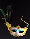 Mask Cosplay Festival/Högtid Halloween Kostymer Blå Tryck Mask Halloween / Karnival / Nyår Unisex PVC