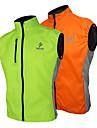 Arsuxeo® Gilet de Cyclisme Sans Manches Homme Sans manche Velo Respirable / Pare-vent Gilet/Sans Manche / Maillot / Hauts/Tops100 %
