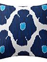 1 pcs Polyester Housse de coussin Coussin avec rembourrage,Ikat Moderne/Contemporain