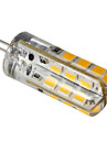 3W G4 LED a Double Broches 24 SMD 2835 270 lm Blanc Chaud / Blanc Froid DC 12 V