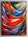 Peint a la main AbstraitClassique Un Panneau Toile Peinture a l\'huile Hang-peint For Decoration d\'interieur