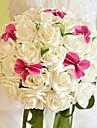 belle rose et bouquet de mariage de phalaenopsis