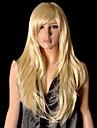 Parti perruque - Blond - Droit - en Fibre synthetique - pour Femme