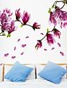 Botanique Bande dessinee Romance Nature morte Mode Floral Paysage Fantaisie Stickers muraux Autocollants avionAutocollants muraux