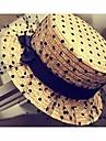 Femme Vannerie Casque-Mariage Exterieur Chapeau