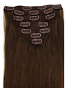 pince a cheveux bresilien dans / sur extension de cheveux naturels droites 18 pouces beaucoup de couleurs pour votre choix