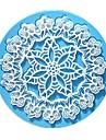 ryska stil blomma omedelbar spets mögel tårta mögel silikon bakning verktyg kökstillbehör dekorationer till tårtor fondant