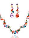 Set bijuterii Pentru femei Aniversare / Nuntă / Logodnă / Zi de Naștere / Cadou / Ocazie specială Set Bijuterii Aliaj Mai multe pietre