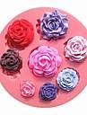 opt trandafiri dimensiune model floare de ciocolată matrite diferite tort