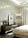 Rayure Fond d\'ecran pour la maison Contemporain Revetement , Intisse Materiel adhesif requis Mural , Couvre Mur Chambre