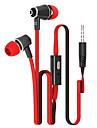 eleganta metall hörlurar (hörlurar, in-ear) 3,5 mm ingångs gäller samsung iphone 4 / 5s / 6 / 6plus htc / röd ris / hirs