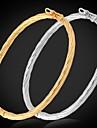 Brățări Brățări Bangle Aliaj / Placat cu platină / Placat Auriu Nuntă / Petrecere / Zilnic / Casual / Sport Bijuterii Cadou Auriu / Argint
