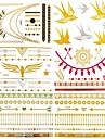 10 Tatouages Autocollants Series bijoux ImpermeableHomme Femelle Femme Adulte Male Adolescent Tatouage Temporaire Tatouages temporaires