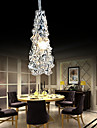 Tradition Classic Transparent glass 1 Light Chandelier