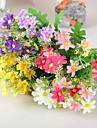 Une succursale Soie Plastique Marguerites Fleur de Table Fleurs artificielles #(33*12*12 cm(12.9*4.7*4.7 in))