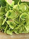 deux grandes hyfrangeas vert fonce artificielle fleurs
