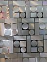 samtida geometriska mosaikmönster fönsterfilm