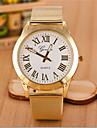 bande d\'acier de quartz analogique alston unisexe montre decontracte (couleurs assorties)