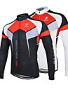 ARSUXEO Cycling Tops / Jerseys Men\'s Bike Breathable / Quick Dry / Front Zipper / Anatomic Design / Antistatic / Limits BacteriaLong