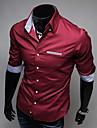 Chemises informelles ( Coton Manches courtes pour Homme
