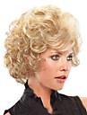 Noir perruque Perruques pour femmes Frise Tres Frise Perruques de Costume Perruques de Cosplay