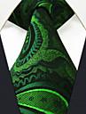 Bărbați Toate Sezoanele Vintage Draguț Petrecere Birou Casual Mătase,Cravată