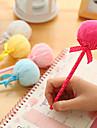 peluche stylo a bille boule design (couleurs aleatoires)