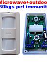 god kvalitet mikrovågsugn wired tri-tech utomhus rörelsesensor larm pir med 30kgs husdjur immunitet