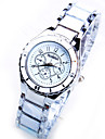 women\'sround dial ur modebranchen efterligning keramisk quartz ur