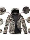 Unisexe Sport Veste Veste d\'Hiver Hauts/Tops Etanche Respirable Resistant aux ultraviolets Resistant a la poussiere CamouflageXS S M L XL