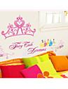 väggdekorationer väggdekaler, prinsessa pvc väggdekorationer