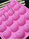 mode silikon is klubba godis choklad modellering forma kaka Utsmyckning bakeware matlagning verktyg (slumpmässig färg)