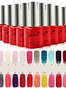 Nail Art Affordable Soak-off Gel Polish(10ml,No.1-24 ,Assorted Colors)