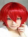 la mode dessin anime de couleur perruques colorees mascarade perruque rouge dedie a court de fumee