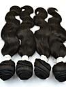 """4st mycket 10 """"-26"""" obearbetat brasilianska jungfru hår förkroppsligar vinkar naturligt svart människohår väver / buntar"""