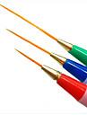3pcs dessin a la plume de l\'ongle fixes pour outil de nail art