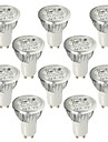 6W GU10 LED Spot Lampen 4 High Power LED 530-580 lm Kuehles Weiss AC 100-240 V 10 Stueck