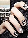 2 Sticker Manucure  Autocollants 3D pour ongles Abstrait Mariage Maquillage cosmetique Manucure Design