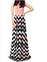 PinShang Women\'s Beach/Casual Round Sleeveless Dresses