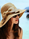 여성 바구니 세공품 투구-특별한날 / 캐쥬얼 / 야외 모자 1개 56-58CM