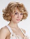 Europa och Förenta staterna att sälja en strykande åtgång med gyllene kort lockigt peruk