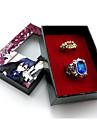 Bijoux Inspire par Black Butler Ciel Phantomhive Anime Accessoires de Cosplay Anneau Bleu Alliage / Gemmes artificiellesMasculin /
