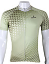 PALADIN® Maillot de Cyclisme Homme Manches courtes VeloRespirable Sechage rapide Resistant aux ultraviolets Compression Materiaux Legers