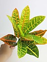 """13 """"hög kvalitet artificiell blad färgglada löv 1 st"""