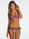 , straped floral sexy femei bikini colorate