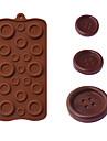 knappar formade bakformar is / choklad / kaka mögel