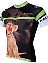 ILPALADINO Maillot de Cyclisme Homme Manches courtes Velo Maillot Hauts/TopsSechage rapide Resistant aux ultraviolets Permeabilite a