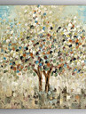 Oil Painting  Abstract Landscape Tree  Hand Painted Canvas with Stretched Framed Ready to Hang