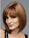 belle perruque classique de cheveux synthetiques, mode cheveux auburn, dame perruque, cheveux courts ,, haute qualite